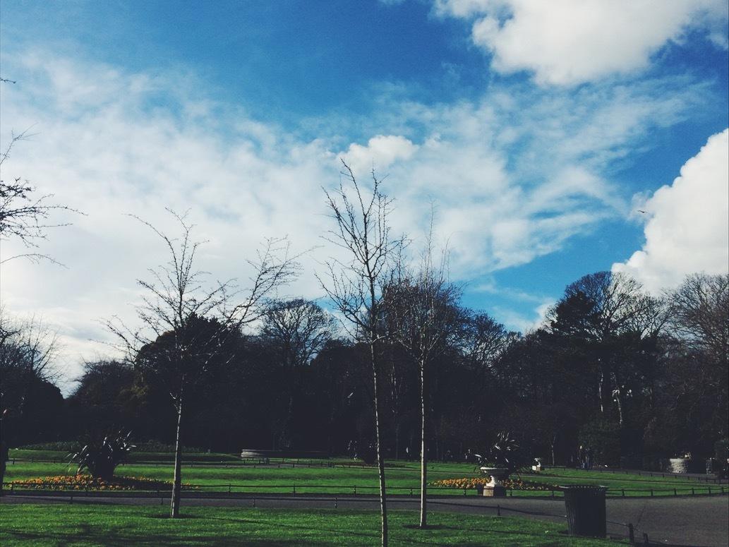 milyのアイルランド紹介4:St Stephen's Green(公園)
