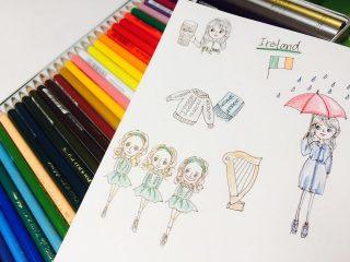 アイルランド・フランス・日本の子供の遊び
