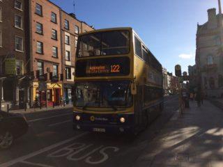 主要交通手段:ダブリンバスについて