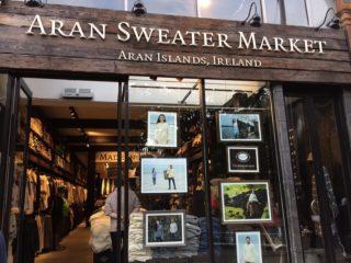 milyのアイルランド紹介24: ARAN SWEATER MARKET
