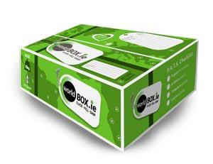 アイルランドから日本へ荷物を発送!World box